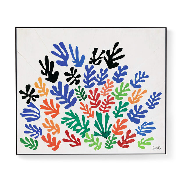 Matisse: La Gerbe Framed Print in color