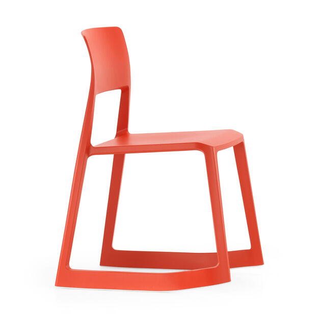 Tip Ton Chair in color Red