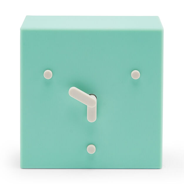 2-6-10 Clock in color Mint