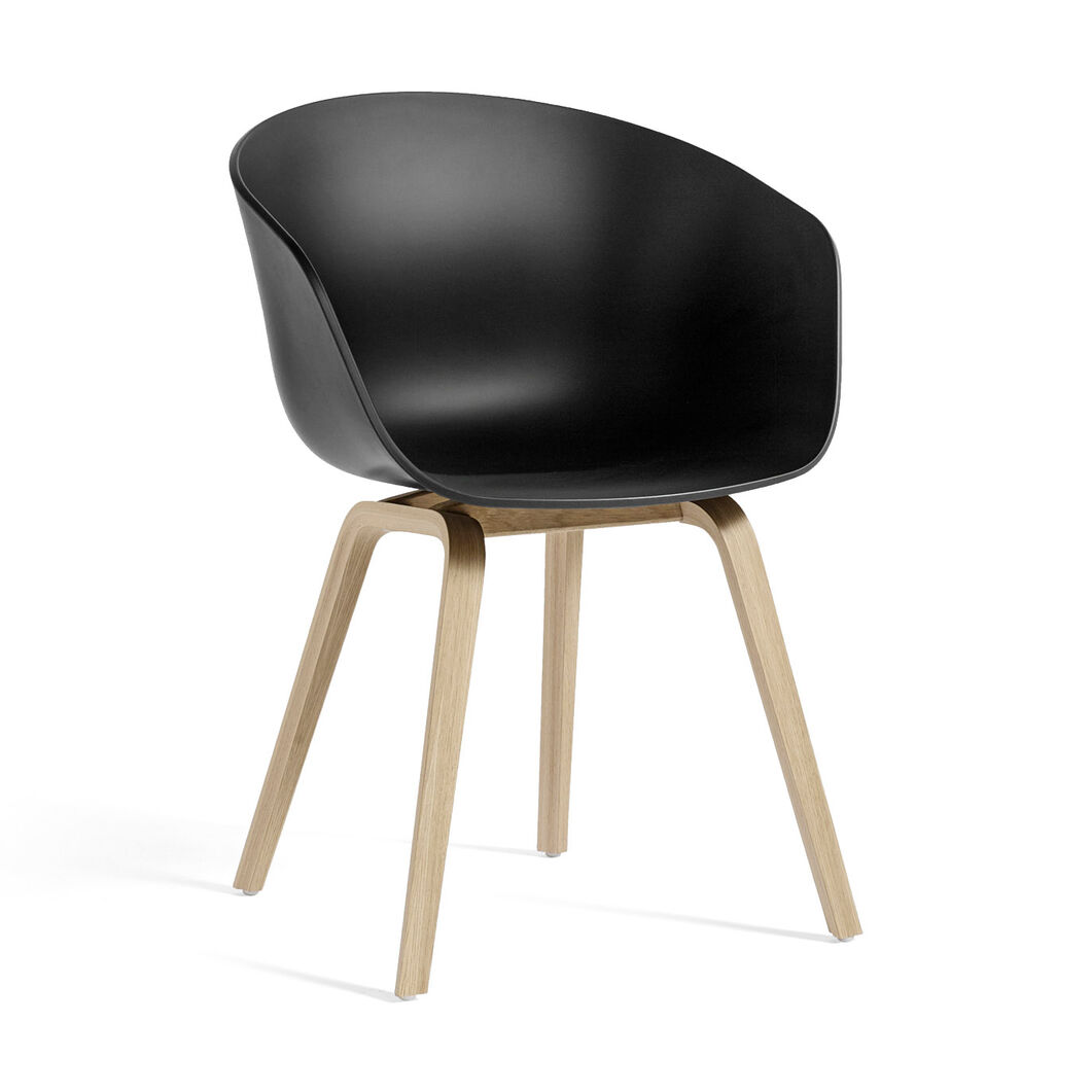 HAY About a Chair 22 in color Black/ Oak