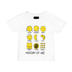 History of Art Youth T-Shirt in color White