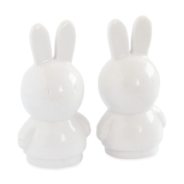 Miffy Ceramic Salt & Pepper Shakers in color