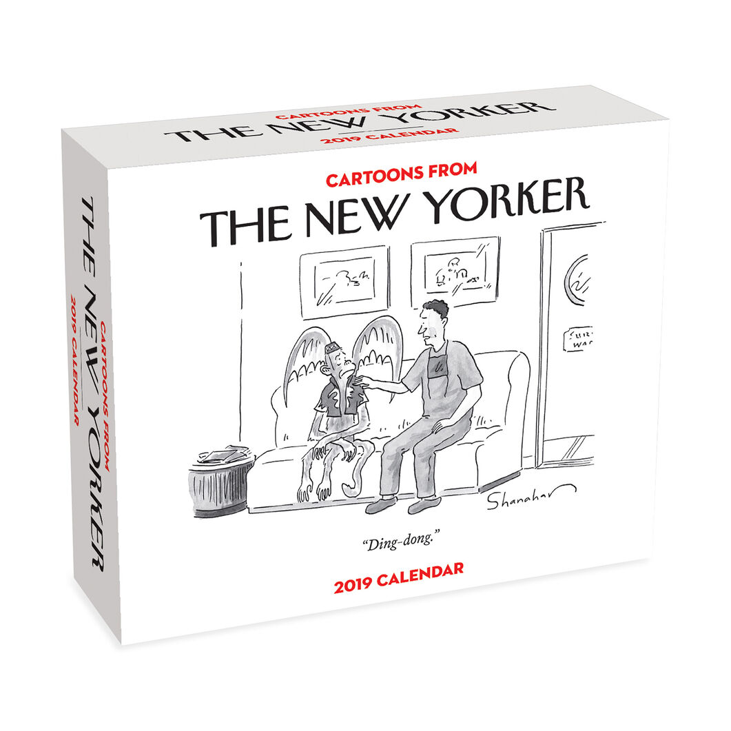 2019 New Yorker Desk Calendar in color