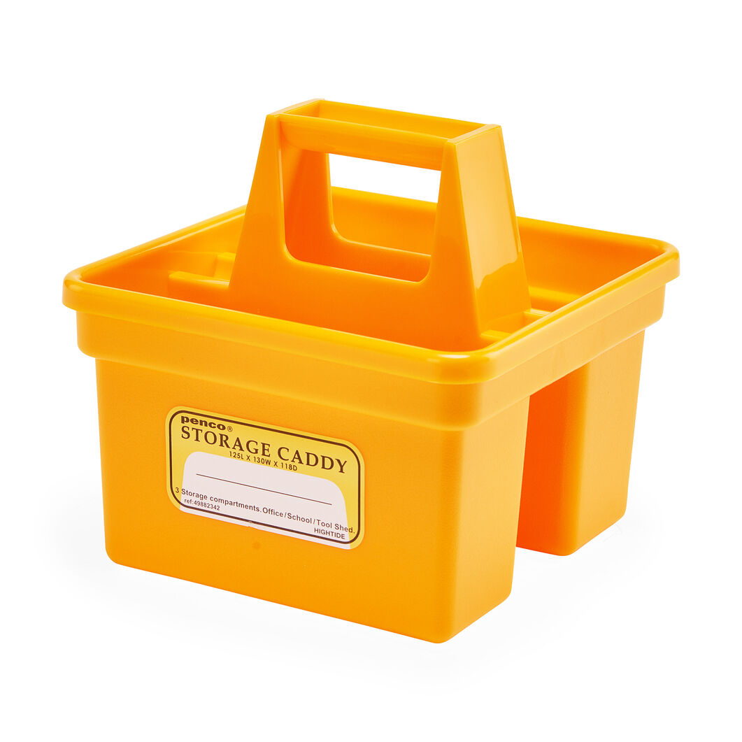 Hightide Small Storage Caddie in color Yellow