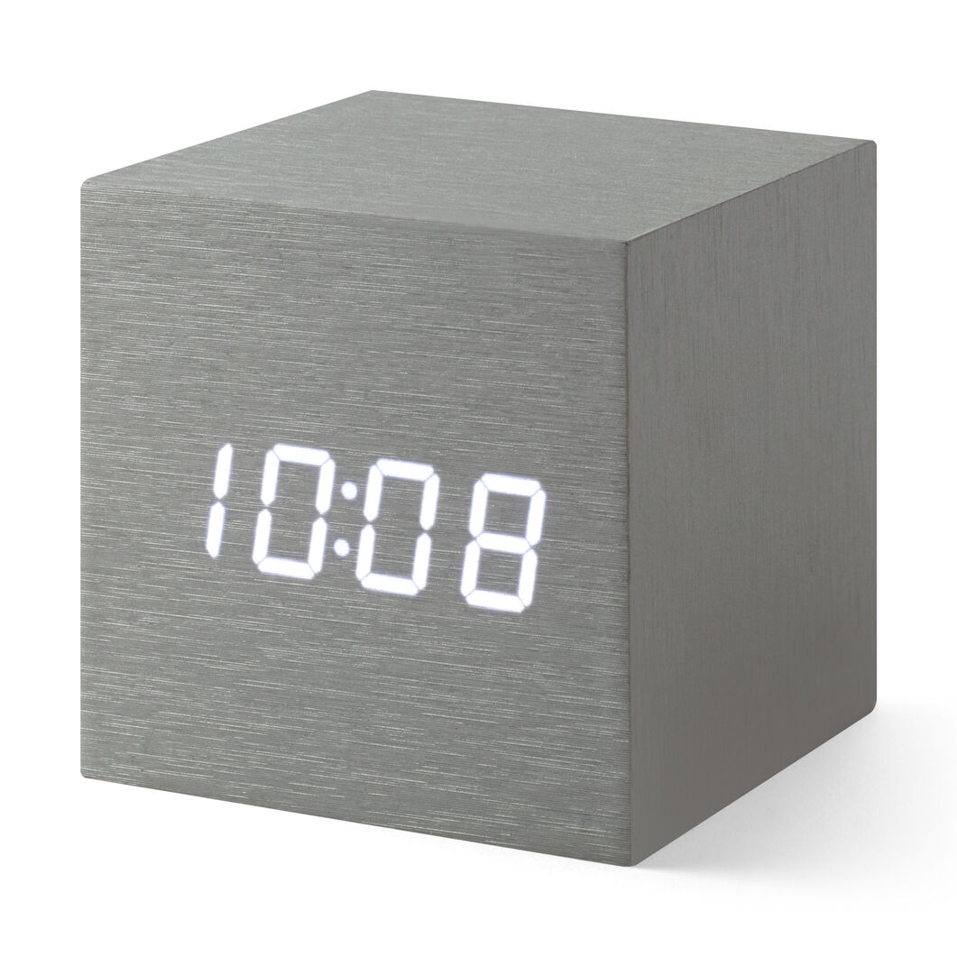 Alume Cube Clock in color