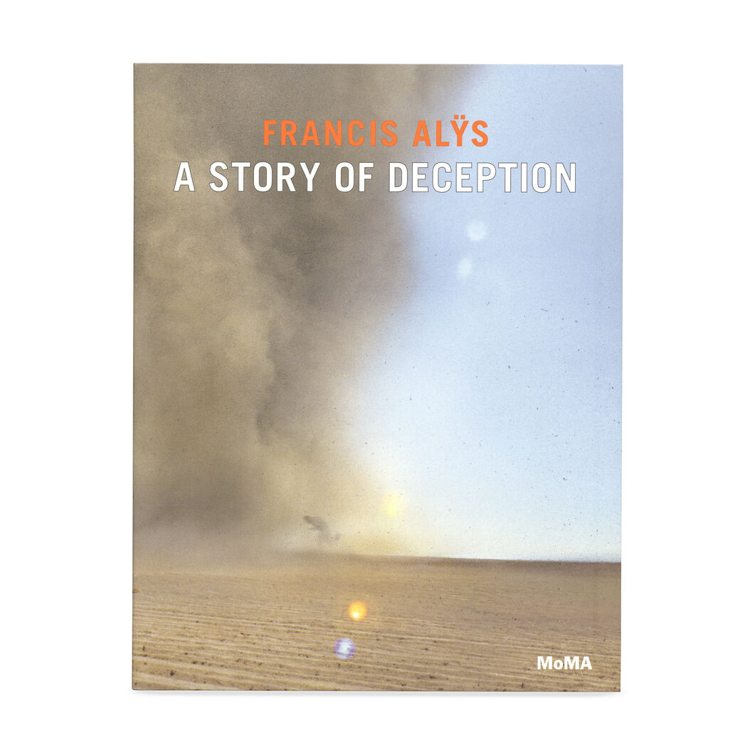 Francis Alys: A Story of Deception (PB) in color
