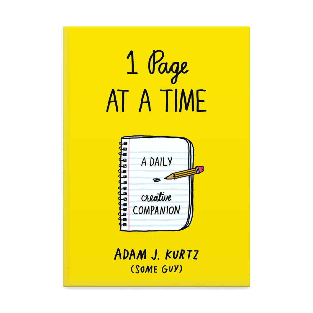 1 Page at a Time: A Daily Creative Companion in color