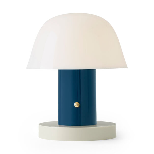 Setago Portable Table Lamp in color Blue