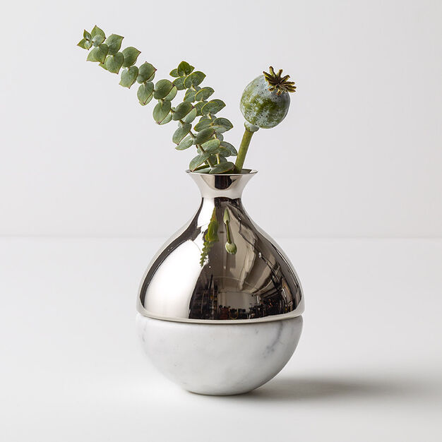 Marble Base Bud Vase in color