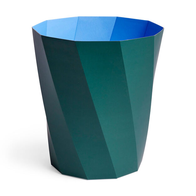 HAY Paper Paper Bin in color Dark Green