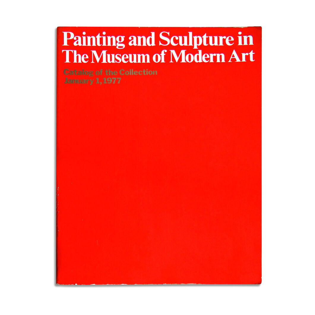 Painting and Sculpture in The Museum of Modern Art: With Selected Works on Paper - Paperback in color