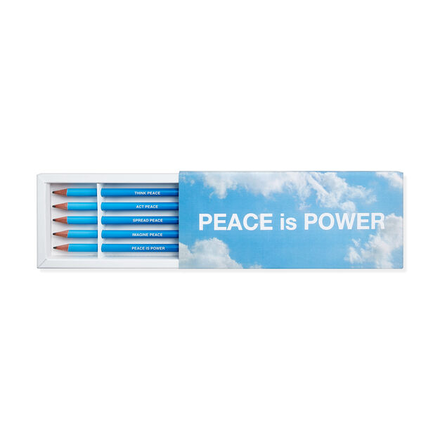 Yoko Ono Peace Pencils in color