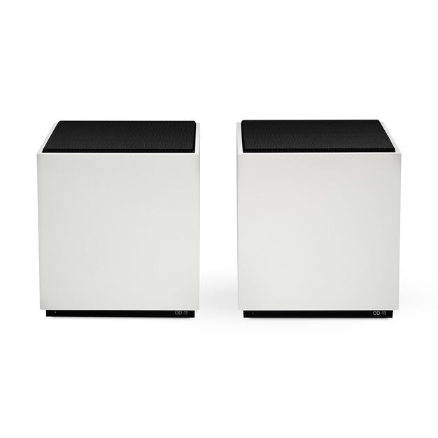 OD-11 Cloud Speaker - Two White Speakers in color