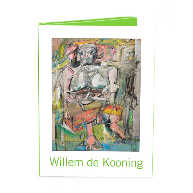 Willem de Kooning Note Card Box in color