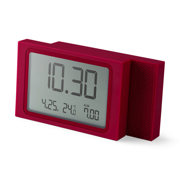 Slide Travel Alarm Clock in color