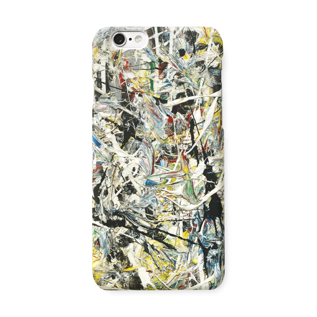 White Light iPhone 6 Case in color