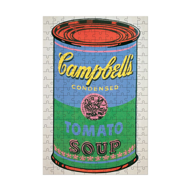 Andy Warhol Soup Can Puzzle in color