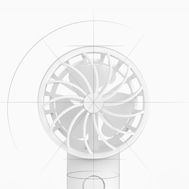 Mini Portable Handheld Fan in color
