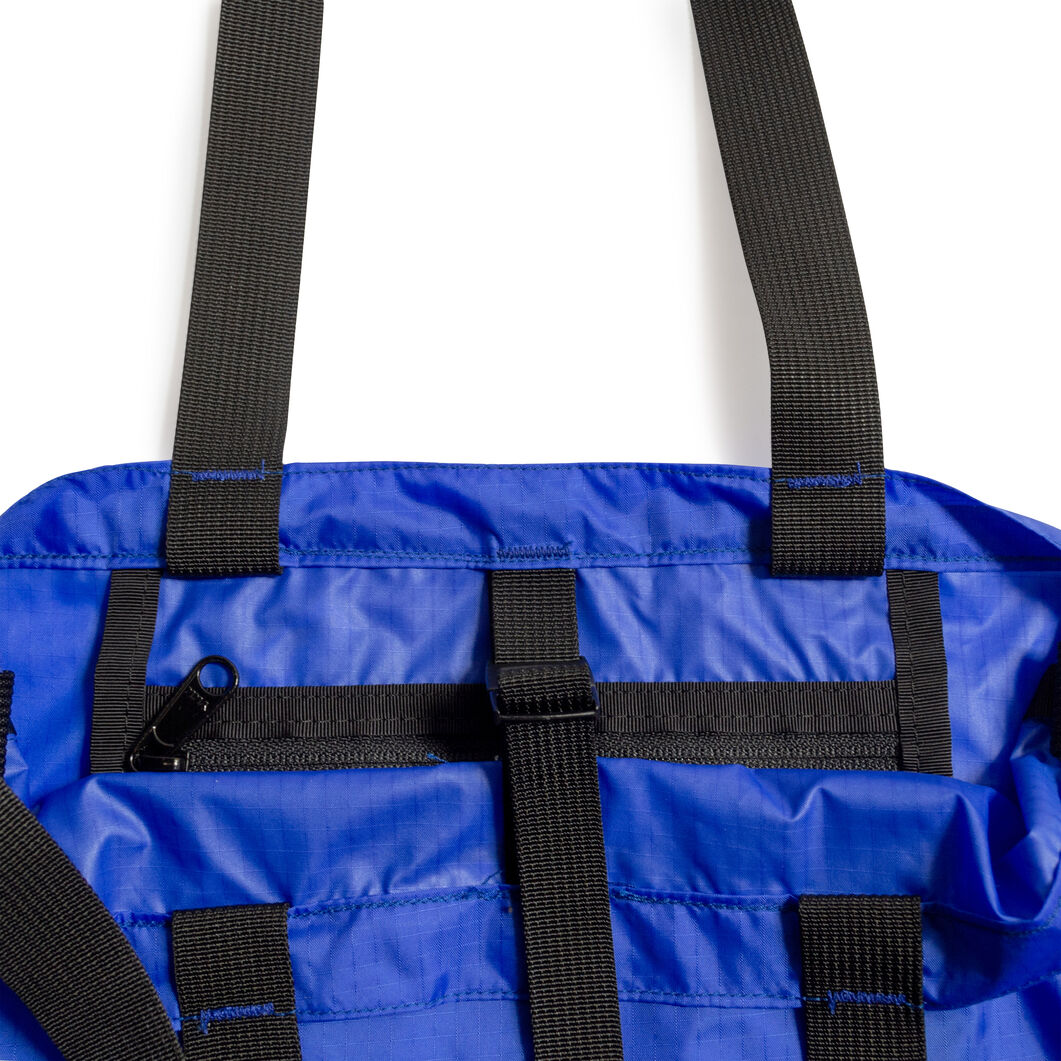 Battenwear Packable Tote Bag in color Blue