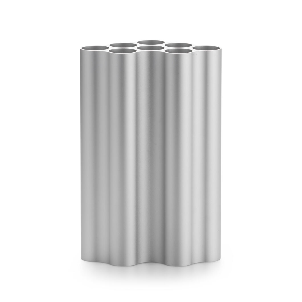 Nuage Vases Large Light Silver in color Silver