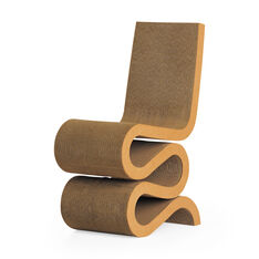 Gehry Wiggle Side Chair in color