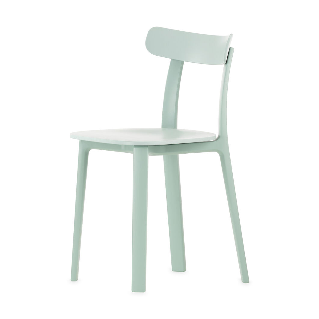 All Plastic Chair in color Ice Gray