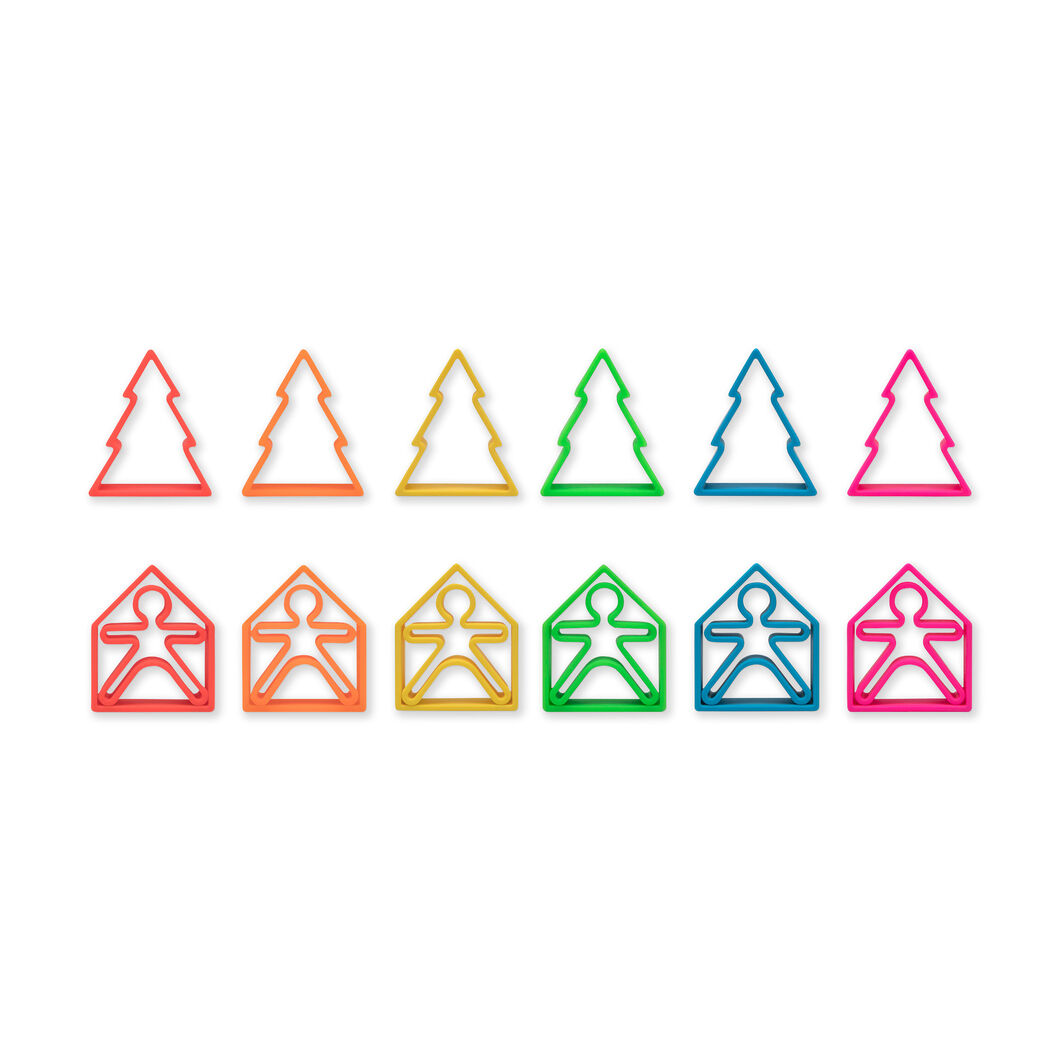 Silicone Shape Toys in color