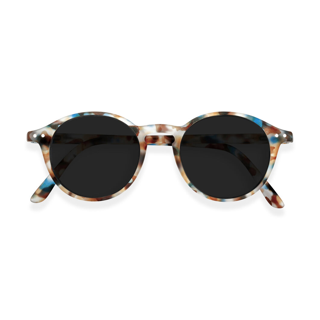 IZIPIZI Round Sunglasses #D in color Blue Tortoise
