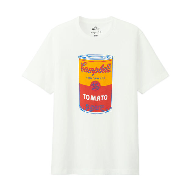 UNIQLO Andy Warhol Soup Can T-Shirt in color