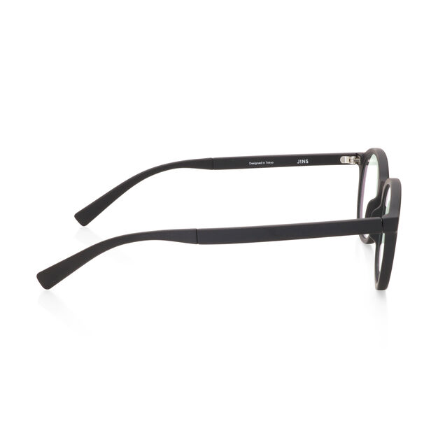 JINS Boston Screen Glasses by Jasper Morrison in color Black