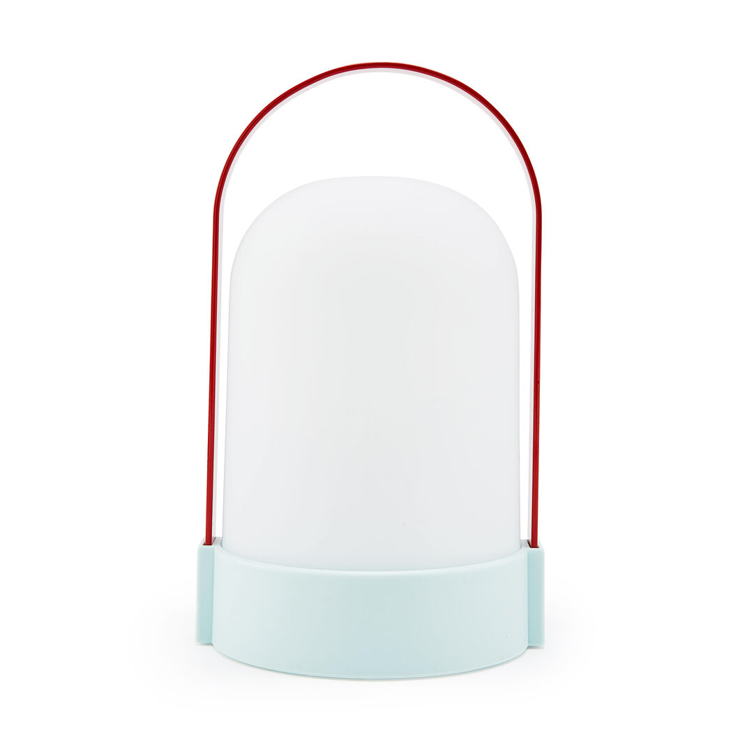 URI Portable Table Lamp in color Red/ Blue