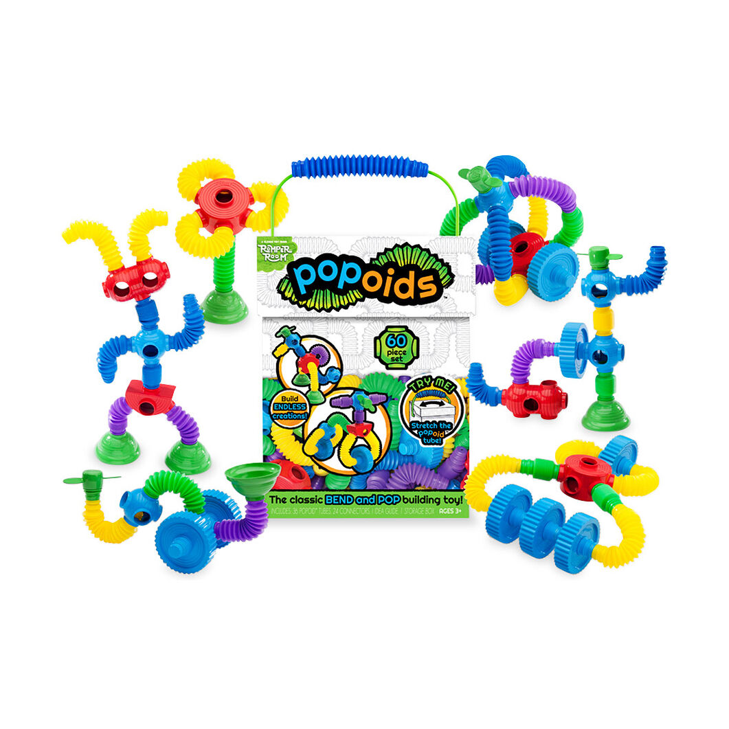 Popoids Construction Toy in color
