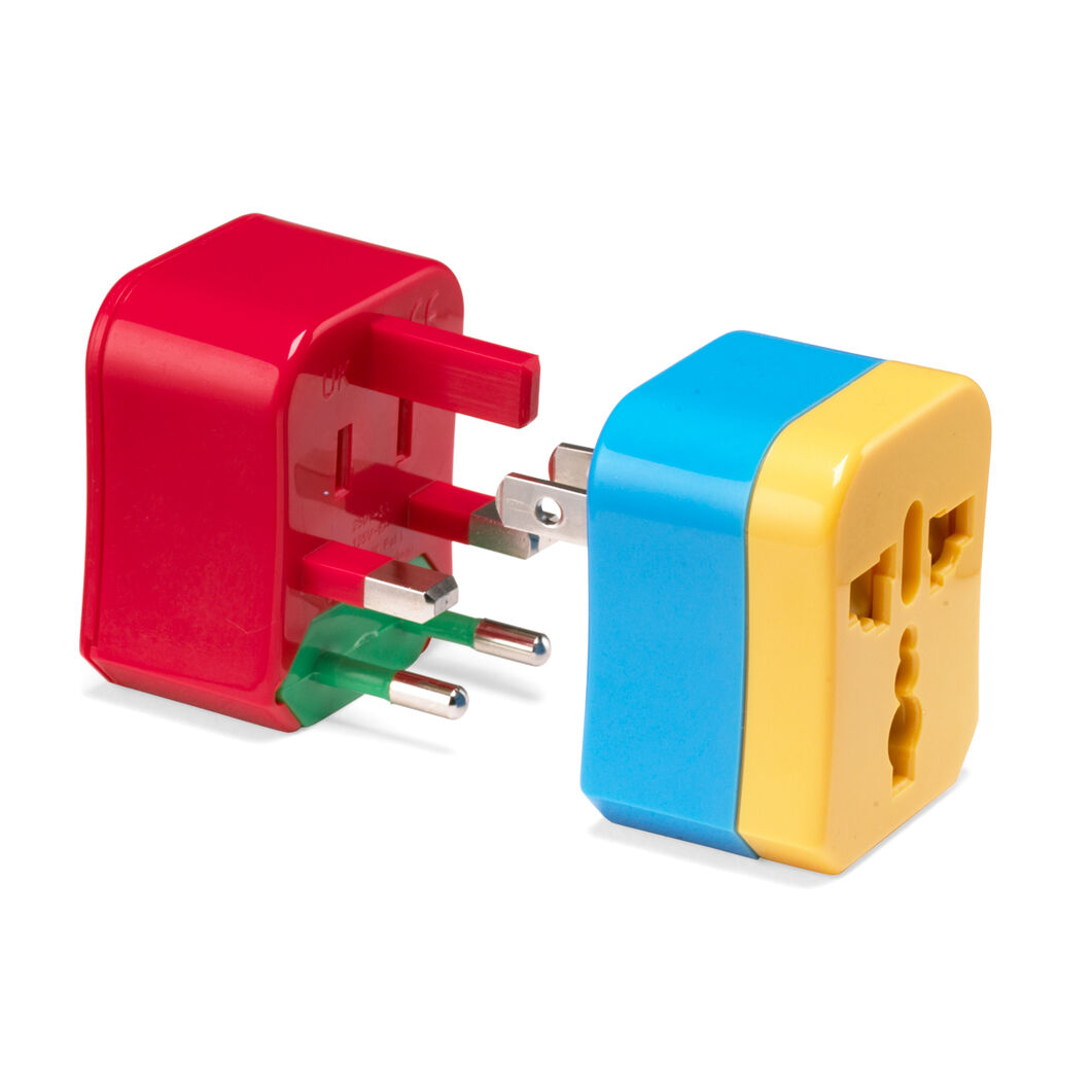 4-in-1 Travel Adaptor in color