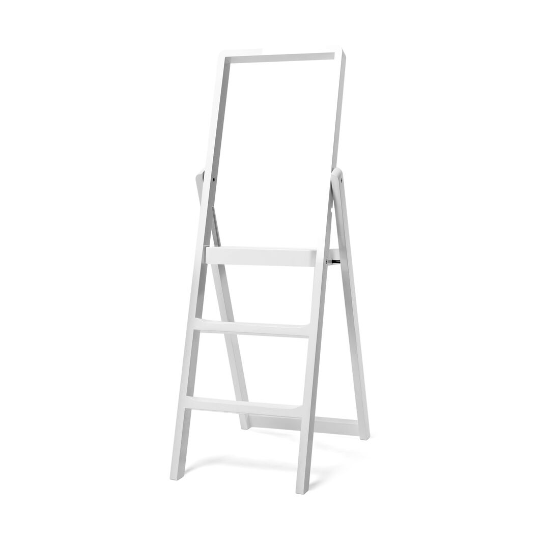 Step Ladder in color White