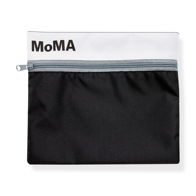 MoMA Logo Pouch in color Grey/ Black