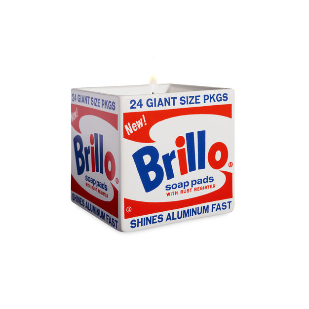 Andy Warhol Brillo Box Scented Candle in color