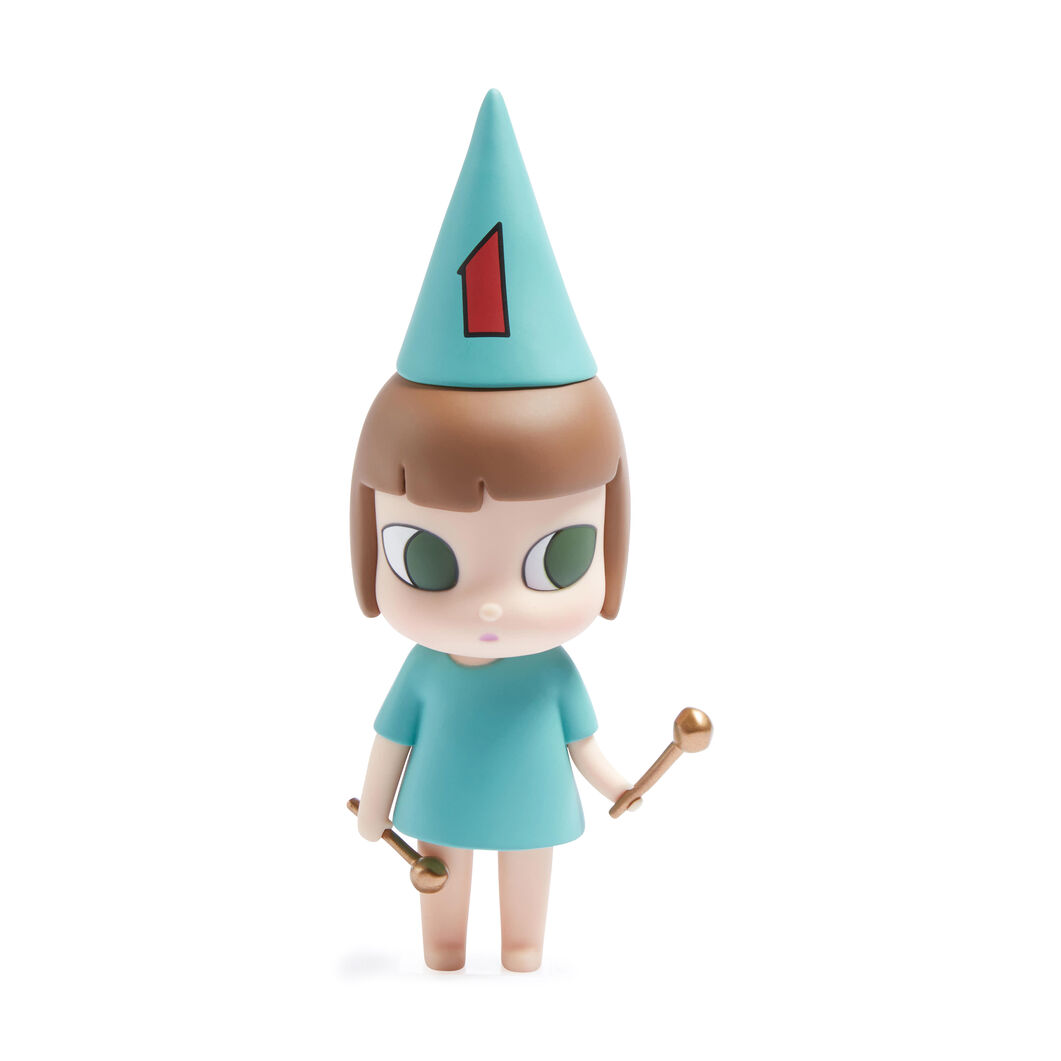 Yoshitomo Nara 123 Drumming Girl Collectible Object in color Light Blue #1