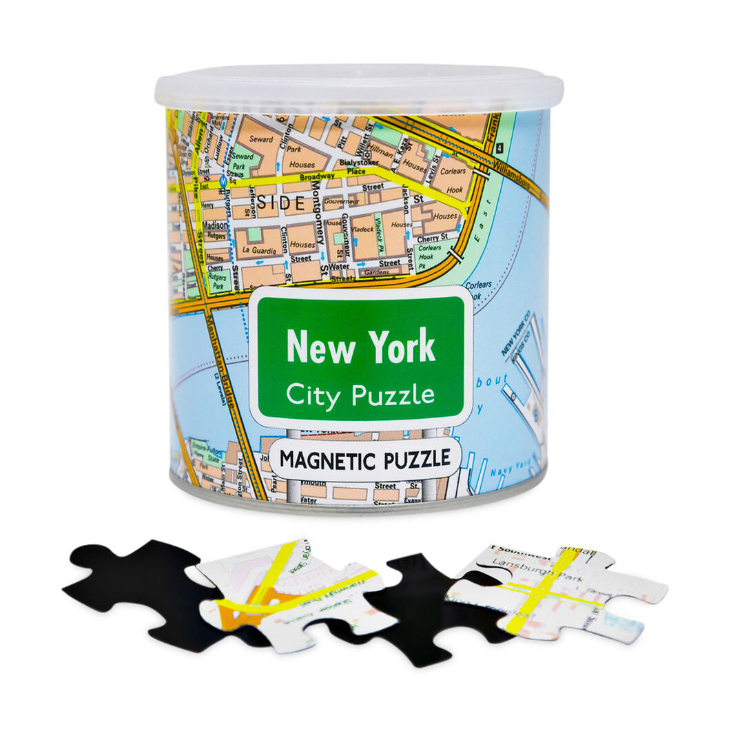 NYC Magnet Puzzle in color