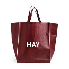 HAY Shopping Bag in color Burgundy