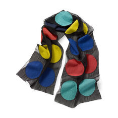 Felted Dot Scarf - Multi in color Multi