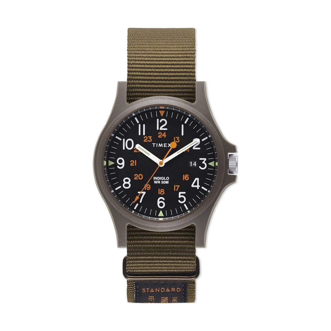 Timex Archives Watch Gift Set in color Green/ Orange