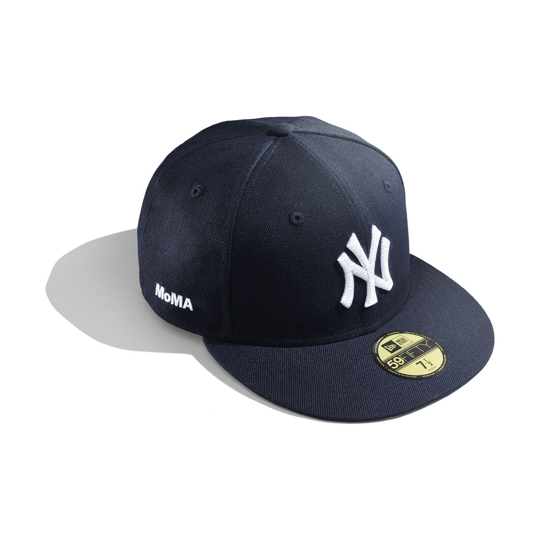 ny yankees baseball cap moma design store. Black Bedroom Furniture Sets. Home Design Ideas
