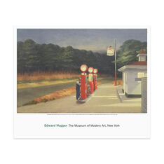 Hopper: Gas in color