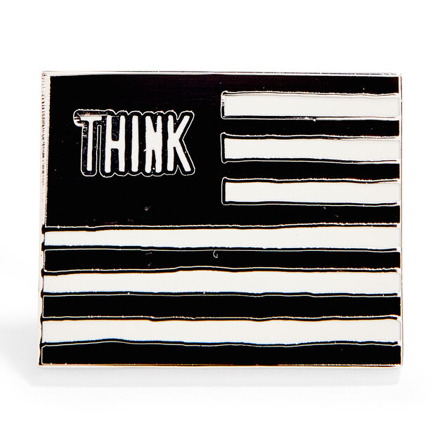 William Copley: Untitled from Protest against the War in Vietnam Enamel Pin in color
