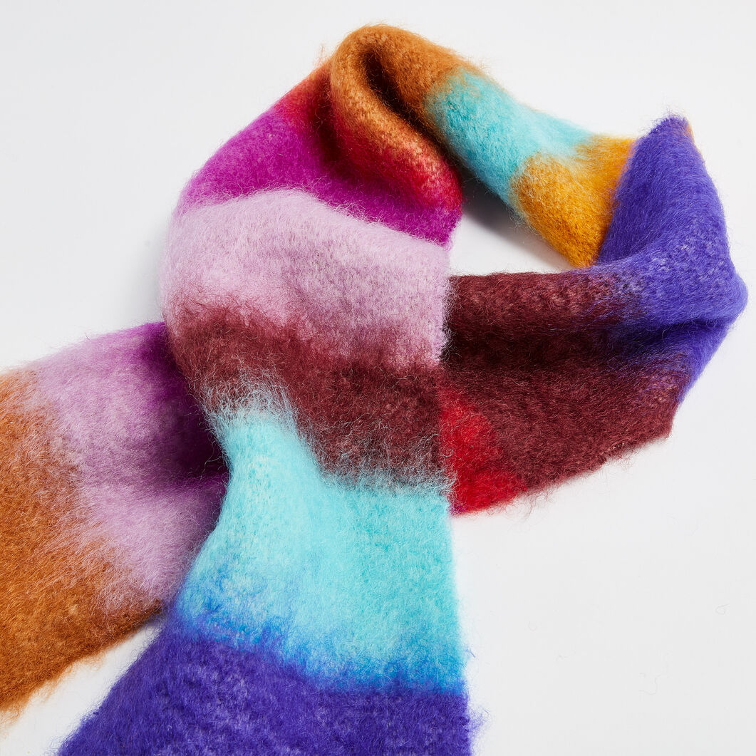Mohair Impression Scarf in color Multi