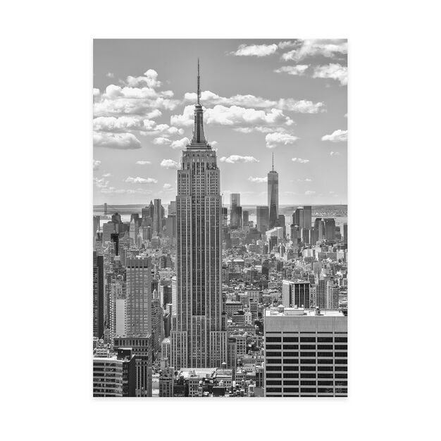 Empire State Building Print in color