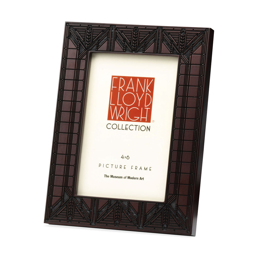 4 x 6 Dana House Lamp Frame in color Brown