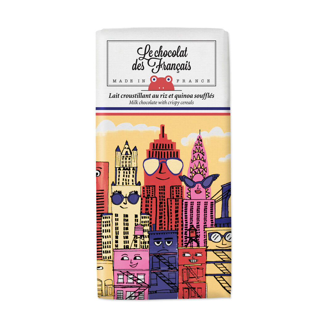 Le chocolat des Français Chocolate Bar - Skyline in color