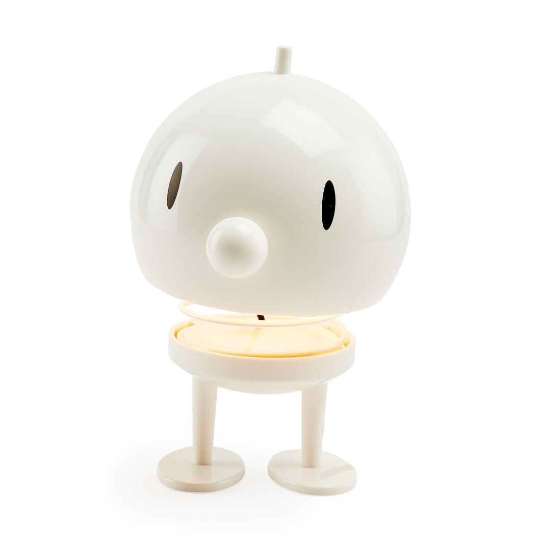 X-Large Bumble Hoptimist Lamp in color White