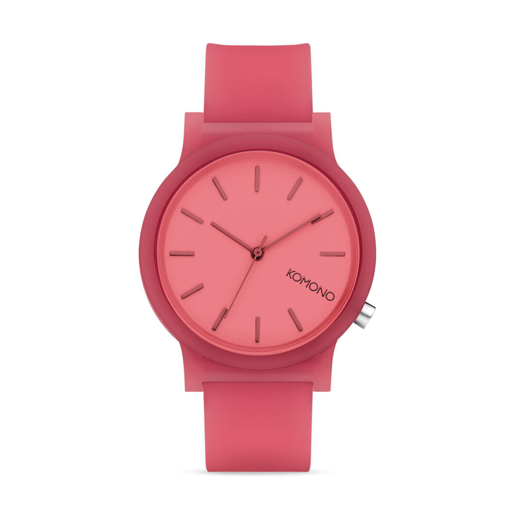 Mono Color Watch in color Pink